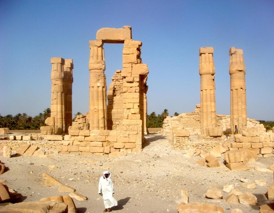 Nubian Ruins in Africa
