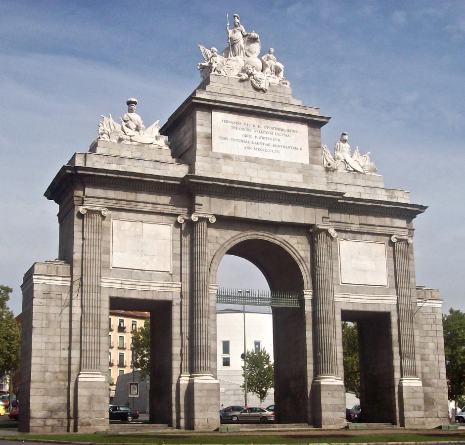 Puerta de Toledo madrid spain